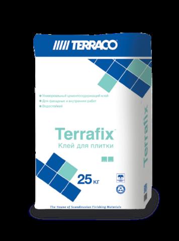 Terraco Terrafix Granite Grey/Террако Террафикс Гранит Серый универсальный клей для клинкера, керамогранита и натурального камня