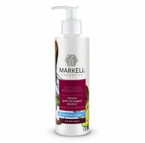 Markell Styling Program Пенка для укладки волос суперсильной фиксации 200мл