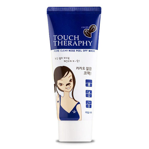 WELCOS Touch Therapy маска очищающая Touch Therapy Cacao Pore Clear Nose Sheet Pack