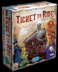 Билет на поезд: Америка