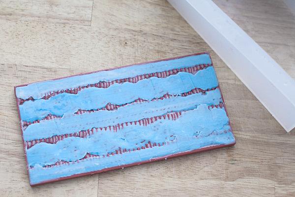 Мыло Вязаный орнамент. Текстурный лист