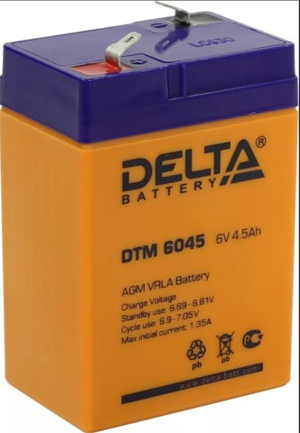 Аккумуляторная батарея DTM 6045