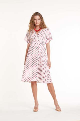 Платье для беременных 11448 горох