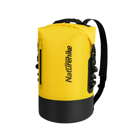 Гермомешок Naturehike Membrane Wet-Dry Bag, с лямками, 20л.