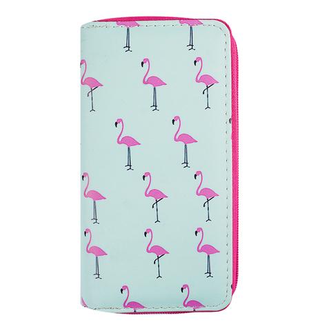 кошелек Large Random Mint Flamingo