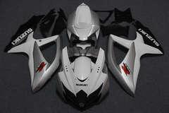 Комплект пластика для мотоцикла Suzuki GSX-R600/750 08-10 Бело-Серебрянный
