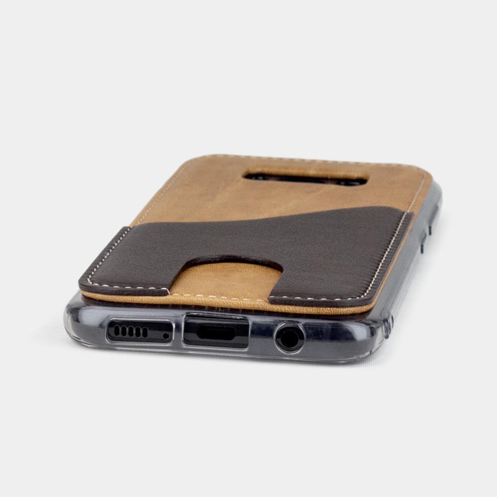 Чехол-накладка Andre для Samsung S8 Plus из натуральной кожи теленка, цвета винтаж