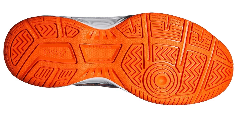 Детские волейбольные кроссовки Asics Gel-Upcourt GS (C413N 5090) темно-синие фото