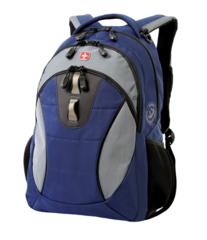 Рюкзак WENGER, цвет синий/серый (16063415)