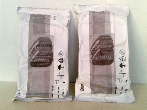 Фильтр-патрон 3M. Совместим с полумасками 3M™ 6000 и 3M™ 7500 , а также полнолицевыми масками 3M ™