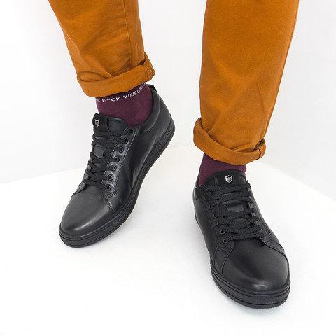 Мужские кроссовки стиль Casual из натуральной кожи
