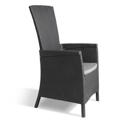 Кресло плетеное под ротанг Allibert Vermont