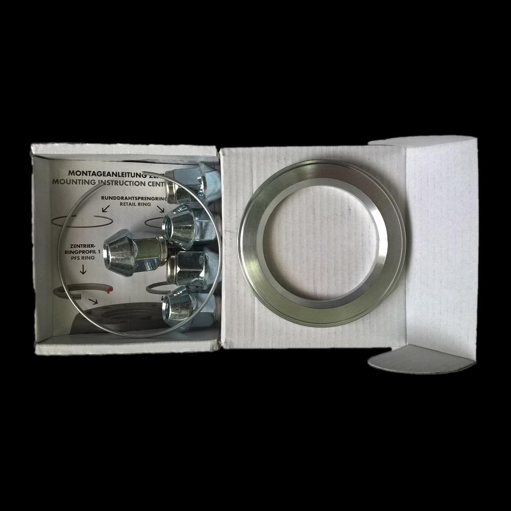 Комплект крепления 1 колеса BBS для Chrysler (1 кольцо/5 гаек)