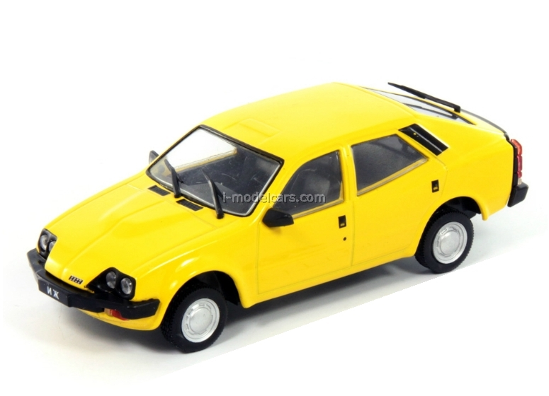IZH-19 Start yellow 1:43 DeAgostini Auto Legends USSR #143