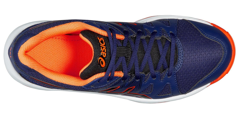 Детские кроссовки для волейбола Asics Gel-Upcourt GS (C413N 5090) темно-синие фото