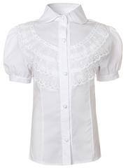 0332 блузка детская, белая