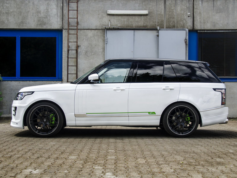 Обвес Lumma CLR SR для Range Rover Vogue