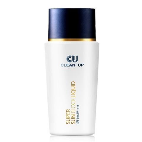Солнцезащитный флюид SPF50+/PA+++, 50 мл / CU Skin Super Sun Block Liquid