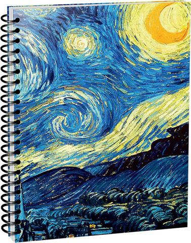 Скетчбук Ван Гог. Звездная ночь