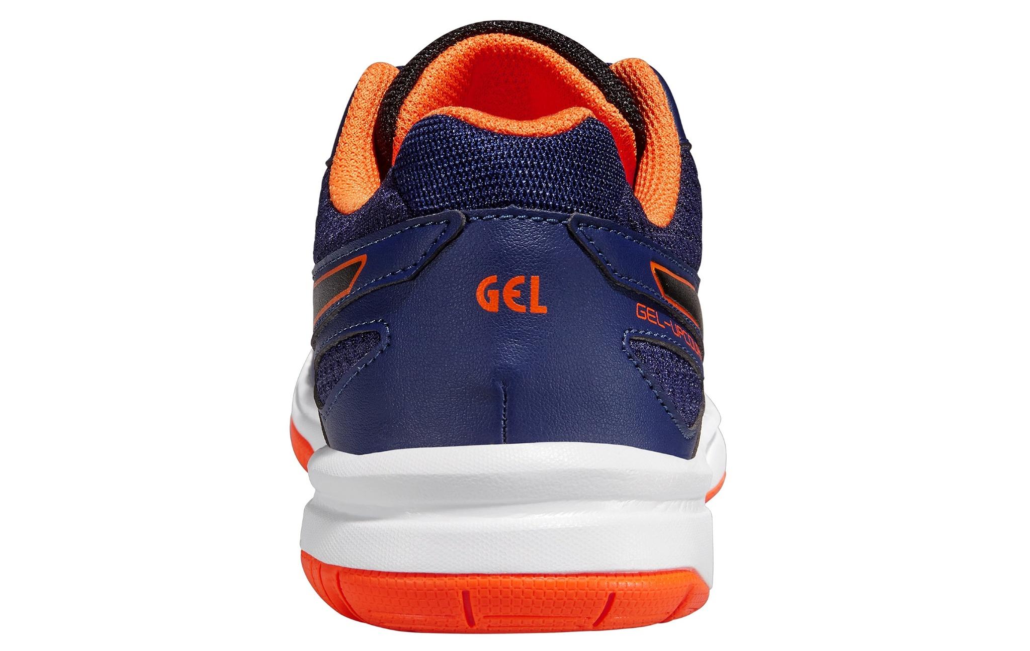 Детская обувь для волейбола Asics Gel-Upcourt GS (C413N 5090) темно-синие фото