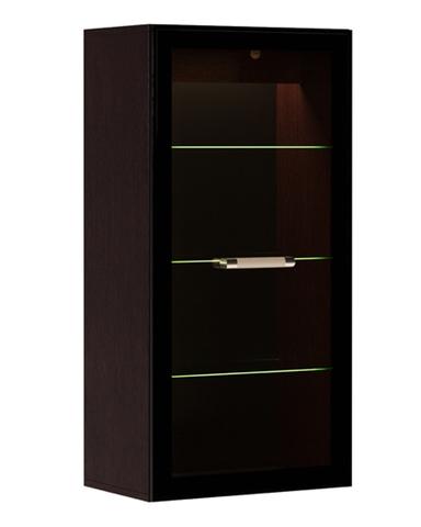 Шкаф навесной с подсветкой СИВОТА