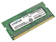 Память для ноутбука Crucial SO-DIMM 2GB DDR3 1600 MT/s (PC3-12800) CL11 204pin 1.35V/1.5V