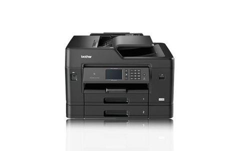 МФУ Brother MFC-J3930DW - А3, цветное струйное, 35/27 стр/мин, 256Мб, факс, дуплекс, DADF50, 2 лотка, WiFi, NFC, LAN (MFCJ3930DWR1)