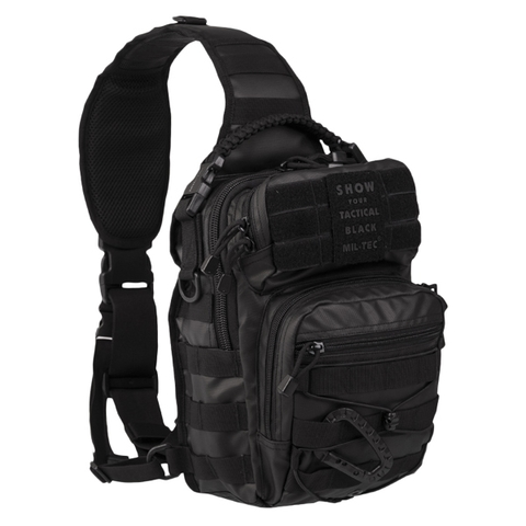 Rucksack US Assault Pack One Strap Tactical Black Small