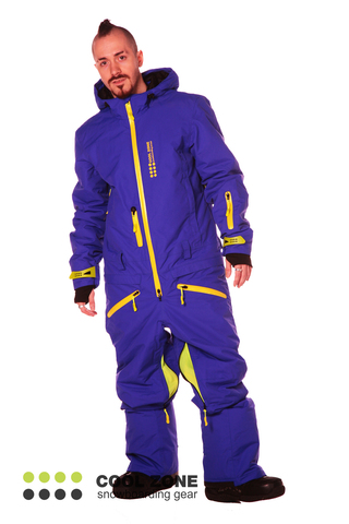 Сноубордический комбинезон мужской Cool Zone 2718