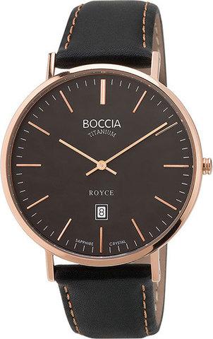 Купить Мужские наручные часы Boccia Titanium 3589-05 по доступной цене