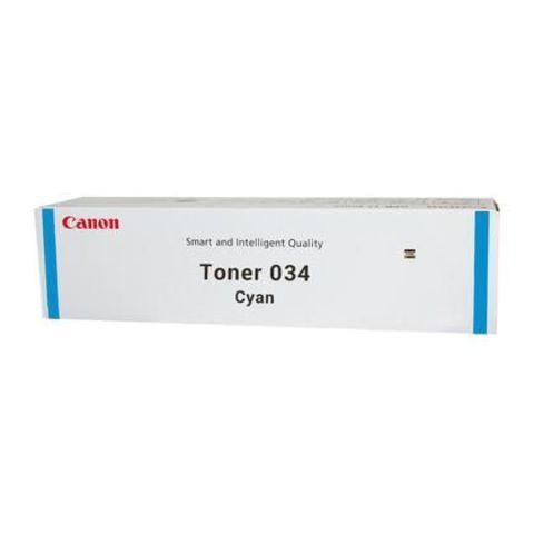 Тонер 034 голубой для Canon iR C1225/C1225iF (7300 стр.), 9453B001