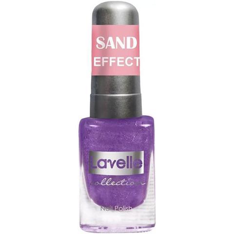 Лавелль лак Sand Effect  6мл тон 662 фиолетовый