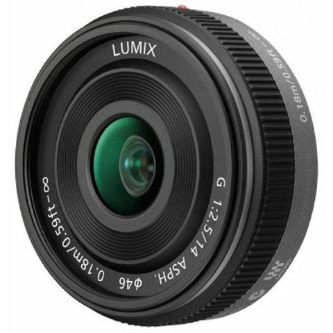 Panasonic Lumix G 14mm f/2.5 II Aspherical Pancake Lens (H-H014A)