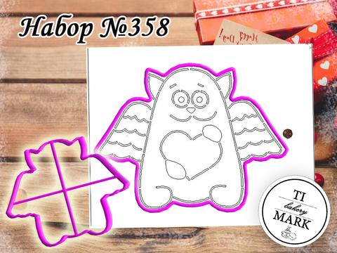 Набор №358 - Кот с сердцем