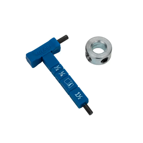 Шестигранный ключ с разметкой и стопорное кольцо Kreg KPHA330