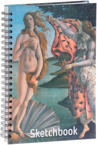 Скетчбук Ботичелли. Рождение Венеры