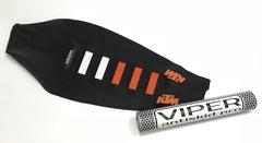Чехол сиденья KTM SX SX-F EXC 17-18 125-450 Оранжевые вставки