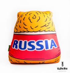 Подушка-игрушка антистресс «Медведь-вратарь» 4