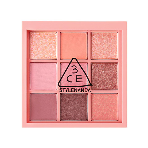 Палетка теней 3CE Multi Eye Color Palette #Beach Muse 8.2g