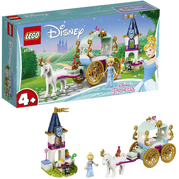 Конструктор LEGO Disney Princess Карета Золушки 41159