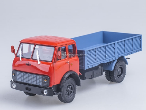 MAZ-5335 board red-blue 1:43 Nash Avtoprom
