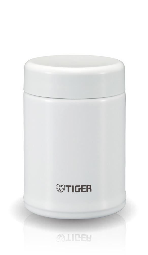 Термос детский для еды Tiger MCA-A (0,25 литра), белый