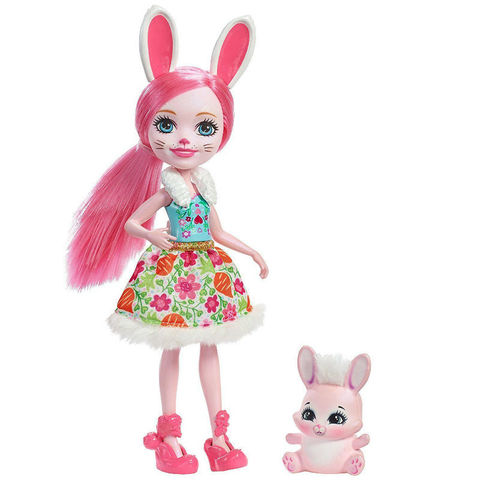 Кукла Энчантималс Бри Кролик и зайка Твист (Bree Bunny и Twist) - Enchantimals, Mattel