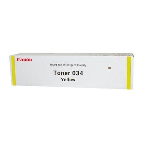 Тонер 034 желтый для Canon iR C1225/C1225iF (7300 стр.), 9451B001