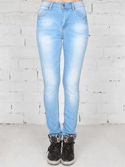 1-2102X джинсы женские, голубые