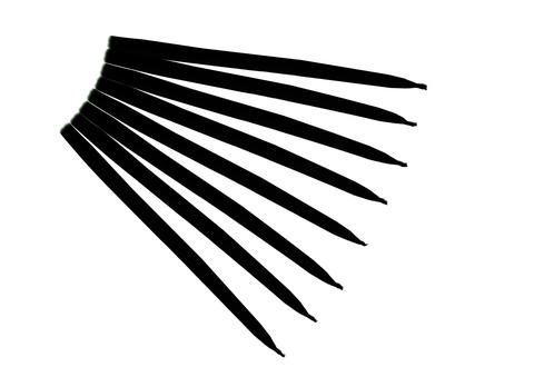 Свеча маканная черная
