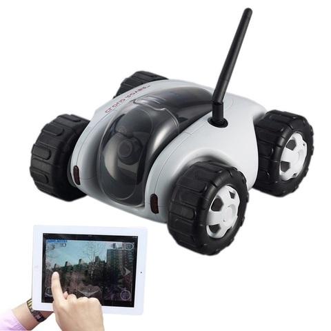 Вездеход-шпион iSpy Cloud Rover для iPad, iPhone, Android с транслирующей видеокамерой