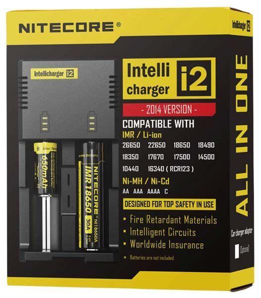 зарядное устройство NiteCore V2 intellicharge i2 отзывы