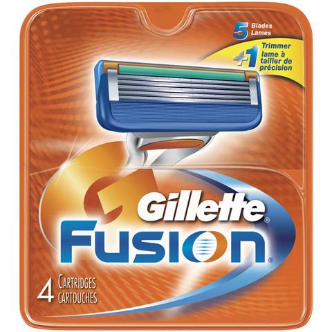 Кассеты Gillette Fusion 4 шт