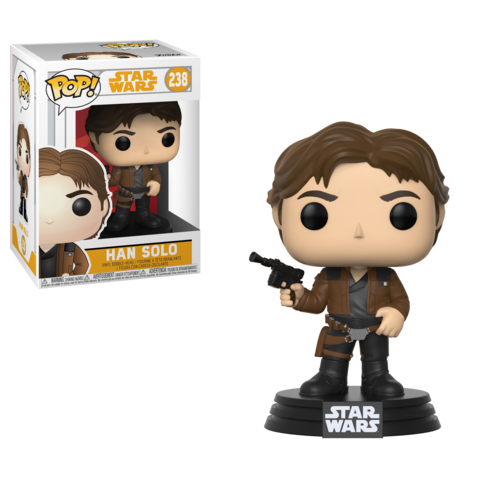Фигурка Funko POP! Bobble: Star Wars: Solo: Han Solo POP 3 26974